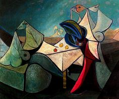 Oscar Dominguez (1906-1958):  Mulheres (not dated)