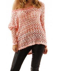Love Crochet Knit Coral
