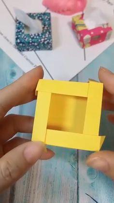 Ahora hazlo t Now do it yourself DIY box home creative pa uelos hogar Diy Crafts Hacks, Diy Crafts For Gifts, Diy Home Crafts, Diy Arts And Crafts, Creative Crafts, Creative Box, Cool Paper Crafts, Paper Crafts Origami, Diy Paper