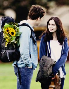 'Love, Rosie' with the beautiful Sam Claflin and Lily Collins