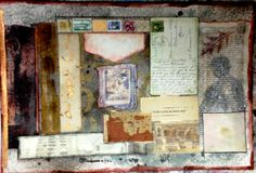 """We Have Given Our Hearts Away"" www.laurierichardsoncreates.wordpress.com www.facebook.com/laurierichardsoncreates Collage Art Mixed Media, Vintage World Maps, Wordpress, Hearts, Facebook, Painting, Painting Art, Paintings, Painted Canvas"