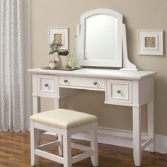 Alcott Hill Lafferty Vanity with Mirror