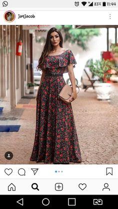 5ca38fa09 15 melhores imagens de Vestidos de moda