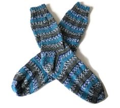 Socks Hand Knit Men's Fair Isle Socks Size by PointedNeedle Knitting Socks, Hand Knitting, Comfy Socks, Weekend Wear, 9 And 10, Casual Shoes, Unique Gifts, Buy And Sell, Legs