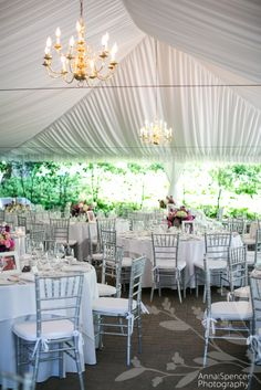 Anna and Spencer Photography, Atlanta Wedding Photographers. Wedding Reception Venue in Buckhead - Canoe Restaurant Tent.