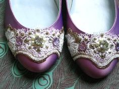 Pretty Purple Flats