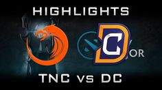 TNC vs DC Kiev Major 2017 Highlights Dota 2
