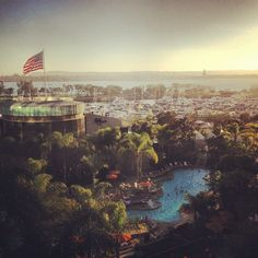 How's that for a view? Photo by James Kai. #sandiego