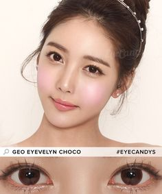 Breathability: silicone hydrogel lenses are thinner and are more densely packed with microscopic pores, allowing your eyes to breathe Circle Light, Circle Lenses, Colored Contacts, Grunge Hair, Gyaru, Brown Hair Colors, Ulzzang, Cosmetics, Makeup