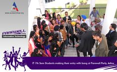 A vibrant and lively farewell party, Adios was organized by IT 5th Semester for IT 7th Semester students. The party was filled with great performances, where juniors bid goodbyes to their seniors, wishing them good luck for their future endeavors.