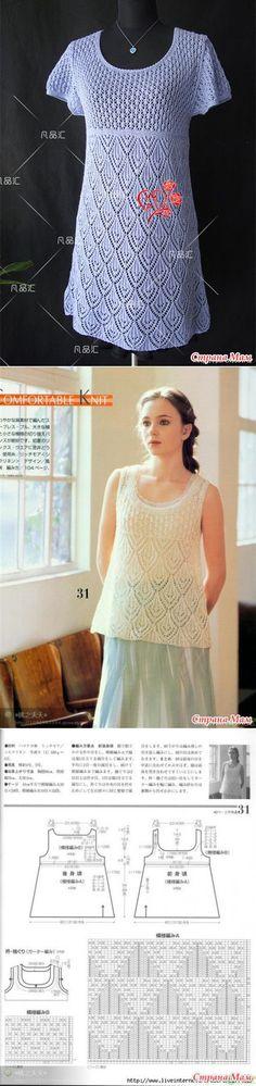 Вязаное платье - Вязание - Страна Мам