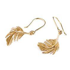 Little Feather Hook Earrings