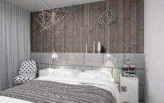 Zagłowie łóżka na całą szerokość ściany - Lovingit.pl