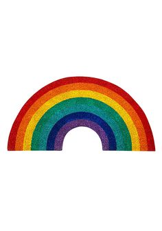leave your worries at the door! this rainbow doormat from sunnylife will greet guests with the warmest of welcomes and is sure to put a smile on every face that enters. because how can you see it and not smile? that's just crazy talk. Gifts For Your Sister, Aesthetic Stickers, Cute Icons, Cute Stickers, Cute Drawings, Collage Art, Overlays, Design Art, Rainbow
