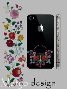 Hungarian Matyo decoration to iphone