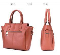 Borsa donna di pelle firmata DUDU con tasche laterali e tracolla - Reale Britist Dudu Bags - borse online su www.dudubags.net