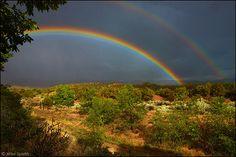 Santa Fe, NM rainbow