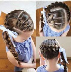 Tips y reflexiones para la vida: Sorprendentes peinados para niñas
