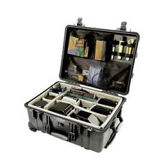 Pelican 1560 Travel/Storage Case with Padded Dividers