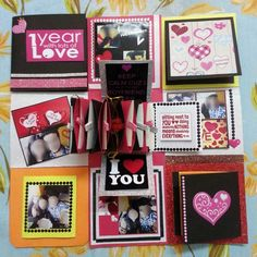 Love Theme Multi Layered Explosion Box   Blossbites