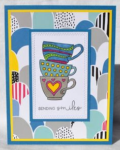 DAT'S My Style: March Stamp of the Month Blog Hop - Tea-rrific
