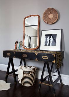 A Colonial Home with a Contemporary Twist - Chanee Vijay Home Tour - Lonny. Written, produced and styled by AphroChic.