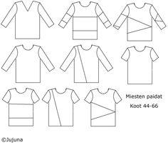 Miesten paita 44-66 | Jujuna