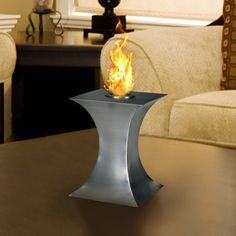 Designer Pureflame Fireplaces by A Touch ofModern - Style Estate -