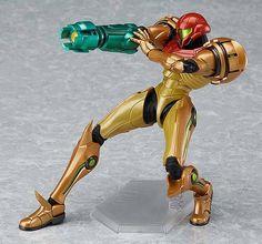 Metroid Prime 3 Samus Aran Action Figure