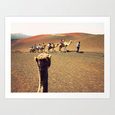 Wish I was there Art Print by María Palacios - $18.00
