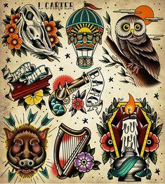 Traditional Tattoo Arm, Traditional Tattoo Old School, Tattoo Sleeve Designs, Tattoo Designs Men, Sleeve Tattoos, Tattoo Ink, Leg Tattoos, Arm Tattoo, Tattoos Mandala