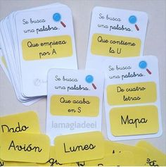 Tarjetas para trabajar la conciencia fonológica y la lectoescritura. Writing Activities, Preschool Activities, Subitizing, Early Reading, Spanish Classroom, Kindergarten Teachers, Dyslexia, Reading Comprehension, Math Centers