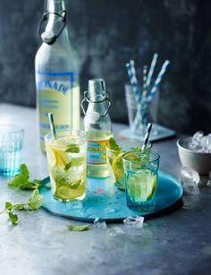Homemade lemonade - perfect for a summer picnic
