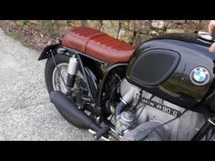 (2) BMW R 90/6 CUSTOM - Mass exhaust - YouTube