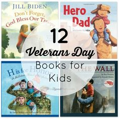 Teach your kids about the military and meaning behind this holiday with these 12 Veterans Day Books for Kids.