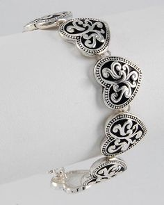 Filigree Heart Bracelet: Jewelry: Amazon.com, I want this for Valentines Day!