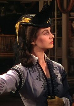 Vivien Leigh as Scarlett OHara in Gone With the Wind - 1939