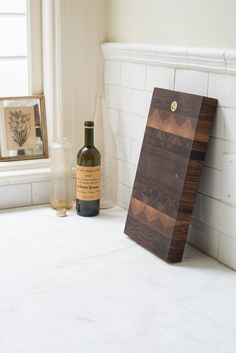 Jacob May Heirloom Cutting Board - Black Walnut - These heirloom-quality cutting boards make an impression—as much works of art as utilitarian items—their intricate, flowing, fractal-like patterns, punctuated w - from QUITOKEETO.com