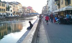 Running through the Navigli canal neighborhood in #Milan, #Italy gives you a whole different feel for the city. #IESinternships