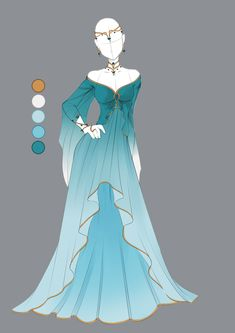 Anime Outfits Draw Blue - draw Informations About Anime Outfits zeichnen Anime Kimono, Anime Dress, Dress Drawing, Drawing Clothes, Outfit Drawings, Drawings Of Dresses, Fashion Design Drawings, Fashion Sketches, Anime Outfits