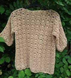 Lindevrouwsweb: Gehaakt Truitje by Lindevrouw Crochet Stitches, Baby Vest, Crochet Fashion, Diy Clothing, Crochet Clothes, Knit Crochet, Pullover, Knitting, Tejidos