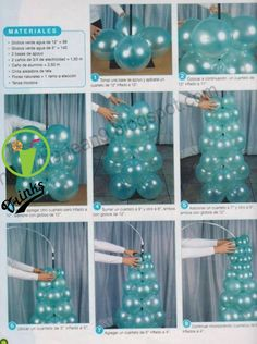 Pin by まるなかようこ on バルーン in 2020 Ballon Decorations, Birthday Party Decorations, Baby Shower Decorations, Birthday Parties, Balloon Columns, Balloon Garland, Balloon Arch, Balloon Ideas, Deco Ballon
