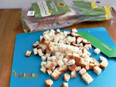 Make #GlutenFree Bread Crumbs of Croutons with Udi's Florence Street Bakery Bread!