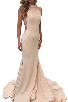 HIDRESS Womens Long Satin Bridesmaid Dress Sexy Back and Hides Zip Mermaid Dresses Evening Prom Dress Size 4 BBlush ** See this fantastic item. (This is an affiliate link ). Sweetheart Prom Dress, Mermaid Prom Dresses, Prom Party Dresses, Prom Dreses, Formal Dresses For Women, Formal Evening Dresses, Sexy Dresses, Satin Bridesmaid Dresses, Maxi Dress Wedding