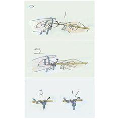 belajar merajut dengan tehnik membaca gambar