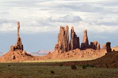 ~ Totem Pole Formation in Monument Valley Navajo Tribal Park ~ Monument Valley is located on the southern border of Utah with northern Arizona, USA....