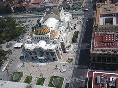 """""""Palacio de Bellas Artes desde el mirador de la Torre Latinoamericana"""", foto 5"""
