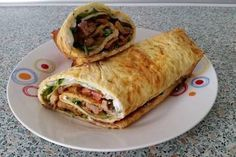Low Carb Gyros Wrap