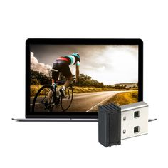 VAKIND Mini Bike ANT+USB Stick Adapter Dongle for Wahoo for Bkoo for Garmin for Zwift Cycling Wireless Receiver Speed Sensor -. Zwift Cycling, Usb Gadgets, Mini Bike, Computer, Ants, Laptop, Watch, Sports, Products