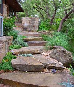 Rocks And Stones Walkway Design Ideas 27